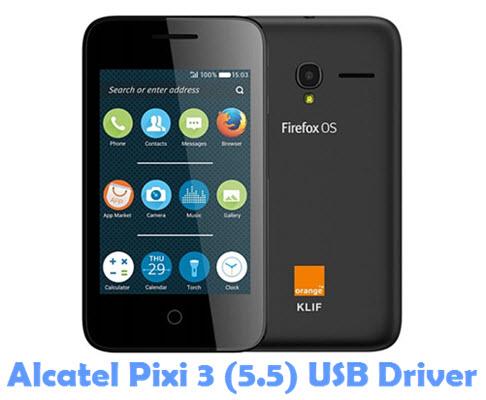 Download Alcatel Pixi 3 (5.5) USB Driver