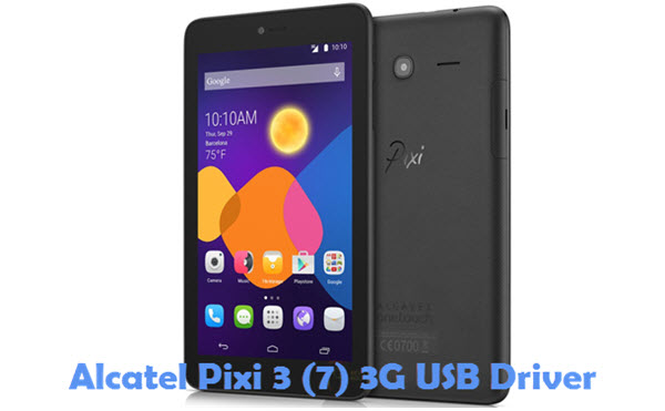 Download Alcatel Pixi 3 (7) 3G USB Driver