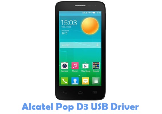 Download Alcatel Pop D3 USB Driver