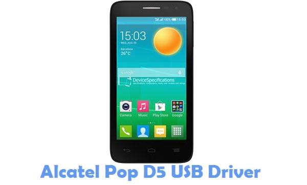 Download Alcatel Pop D5 USB Driver