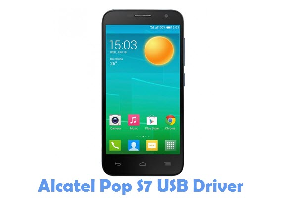 Download Alcatel Pop S7 USB Driver