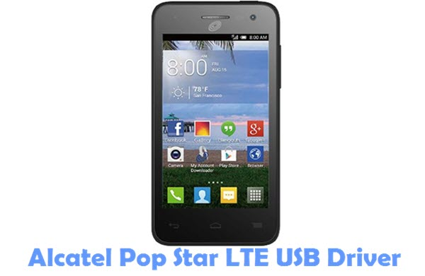 Download Alcatel Pop Star LTE Firmware