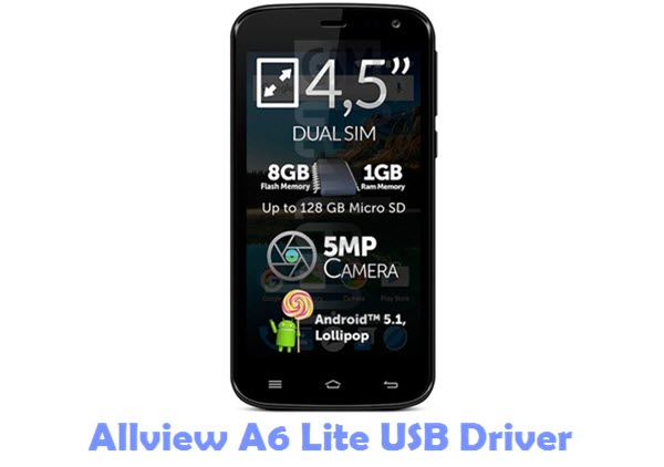 Download Allview A6 Lite USB Driver