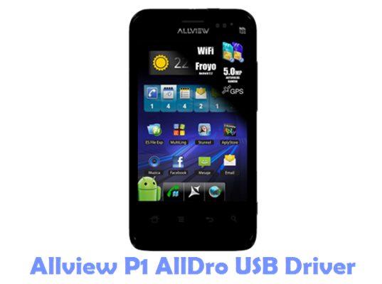 Download Allview P1 AllDro USB Driver