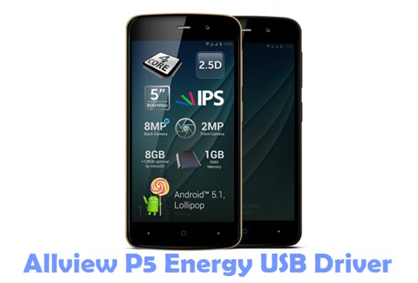 Download Allview P5 Energy USB Driver