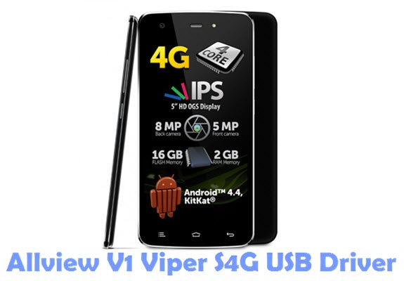Download Allview V1 Viper S4G USB Driver