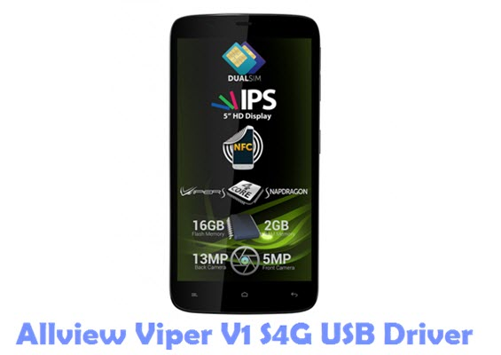 Download Allview Viper V1 S4G USB Driver