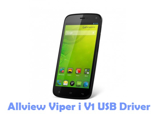 Download Allview Viper i V1 USB Driver