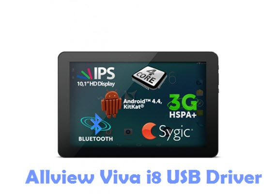 Download Allview Viva i8 USB Driver