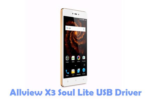Download Allview X3 Soul Lite USB Driver