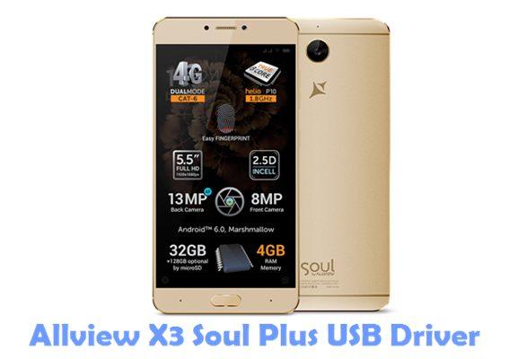 Download Allview X3 Soul Plus USB Driver