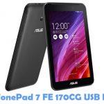 Asus FonePad 7 FE 170CG USB Driver