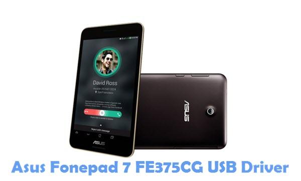 Download Asus Fonepad 7 FE375CG USB Driver