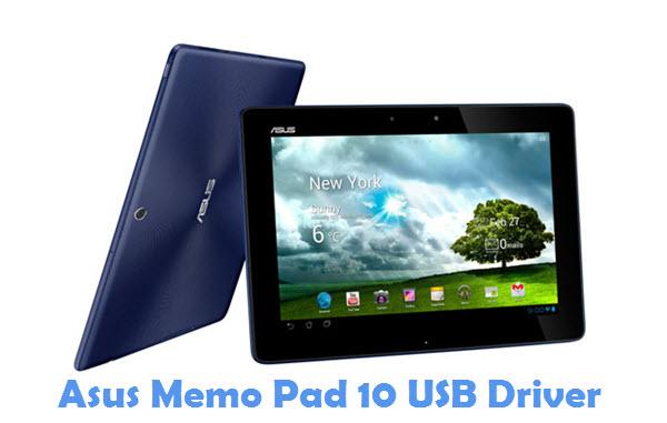 Download Asus Memo Pad 10 USB Driver
