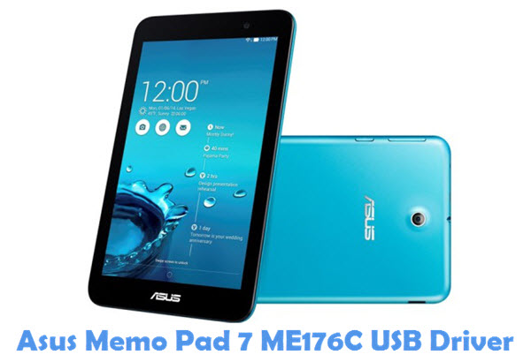 Download Asus Memo Pad 7 ME176C USB Driver | All USB Drivers