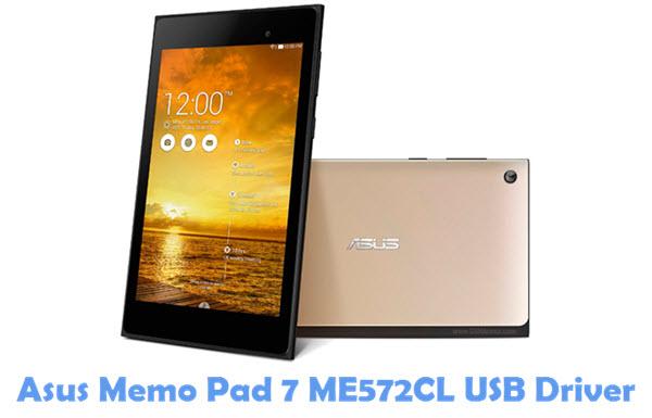 Download Asus Memo Pad 7 ME572CL USB Driver