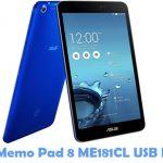 Asus Memo Pad 8 ME181CL USB Driver