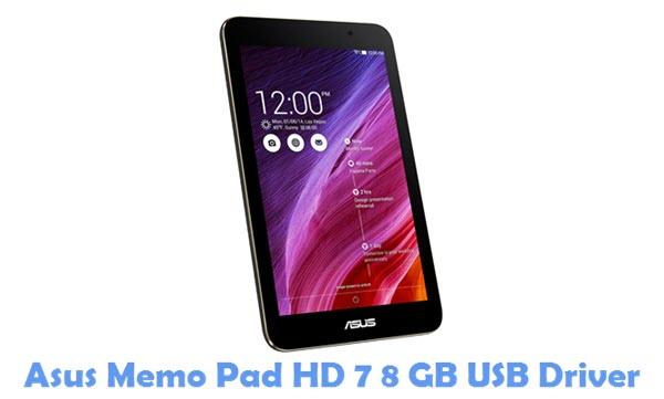 Download Asus Memo Pad HD 7 8 GB USB Driver