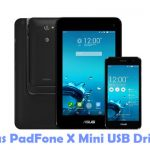 Asus PadFone X Mini USB Driver