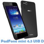 Asus PadFone mini 4.3 USB Driver