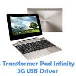 Asus Transformer Pad Infinity 700 3G USB Driver
