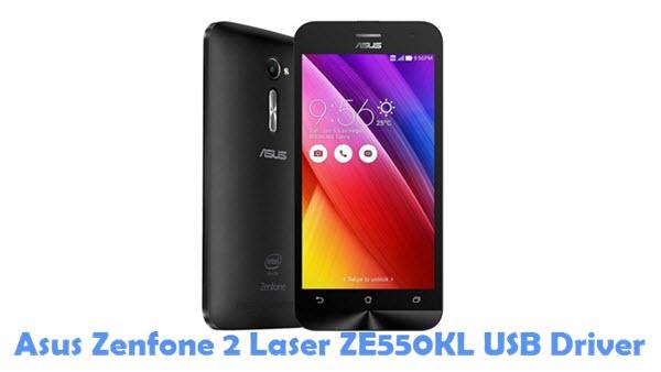 Download Asus Zenfone 2 Laser ZE550KL USB Driver