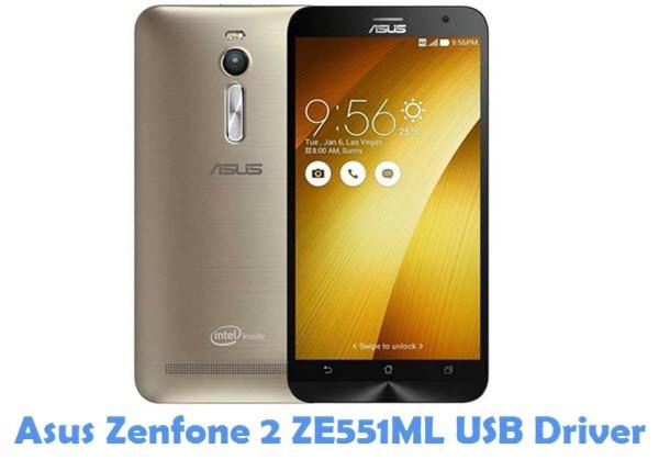 Download Asus Zenfone 2 ZE551ML USB Driver