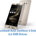 Asus Zenfone 3 Deluxe 5.5 USB Driver