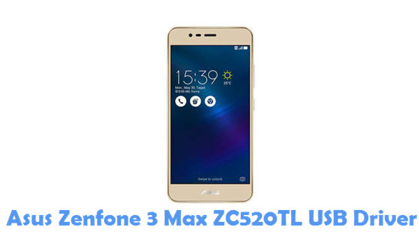 Download Asus Zenfone 3 Max ZC520TL USB Driver