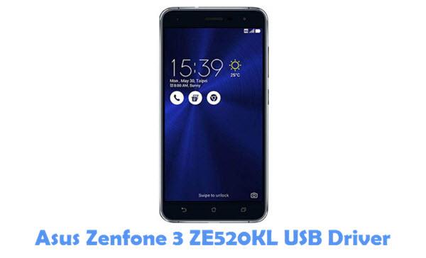 Download Asus Zenfone 3 ZE520KL USB Driver