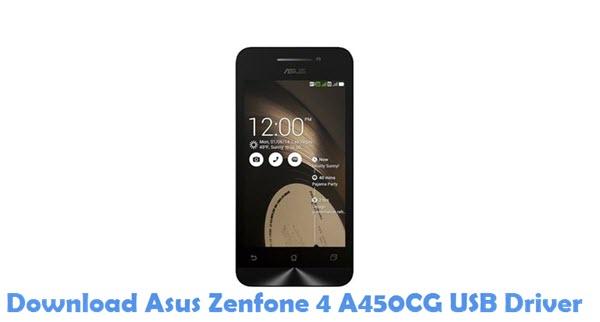 Download Asus Zenfone 4 A450CG USB Driver