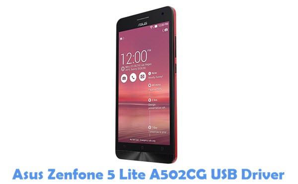 Download Asus Zenfone 5 Lite A502CG USB Driver