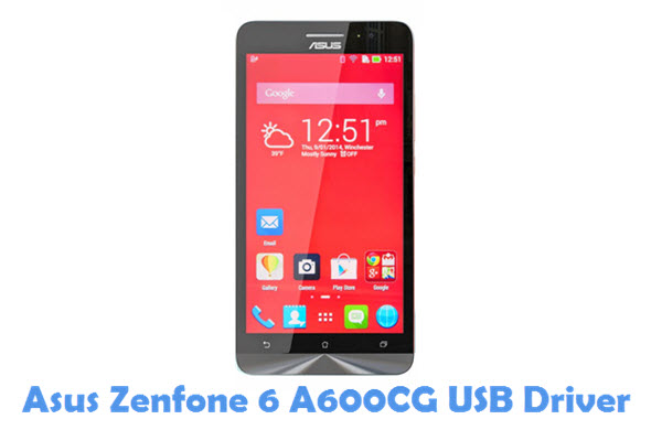 Download Asus Zenfone 6 A600CG USB Driver