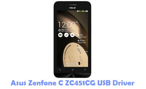 Download Asus Zenfone C ZC451CG USB Driver