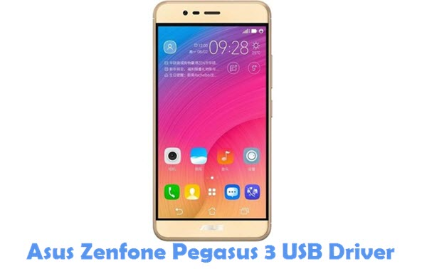 Download Asus Zenfone Pegasus 3 USB Driver