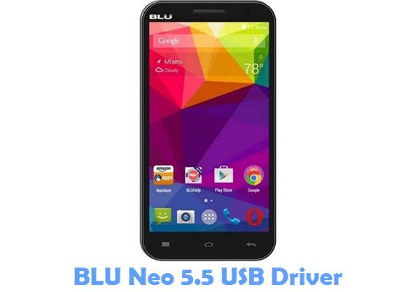 Download BLU Neo 5.5 USB Driver