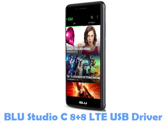 Download BLU Studio C 8+8 LTE USB Driver