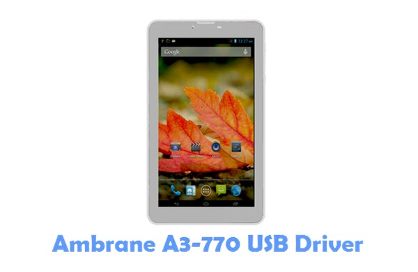 Download Ambrane A3-770 USB Driver