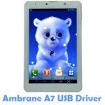Ambrane A7 USB Driver