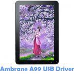 Download Ambrane A99 USB Driver
