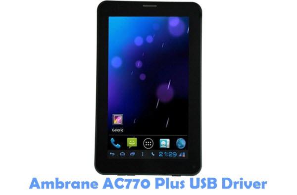 Download Ambrane AC770 Plus USB Driver