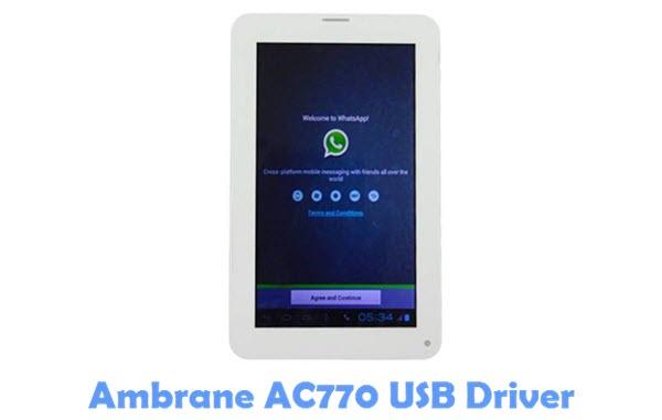 Download Ambrane AC770 USB Driver
