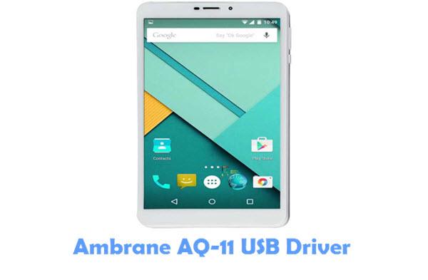 Download Ambrane AQ-11 USB Driver