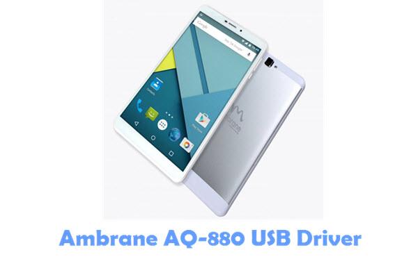 Download Ambrane AQ-880 USB Driver