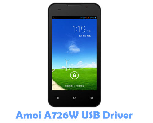 Download Amoi A726W USB Driver