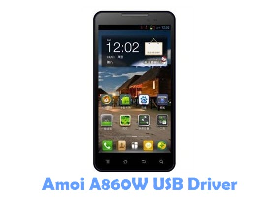 Download Amoi A860W USB Driver