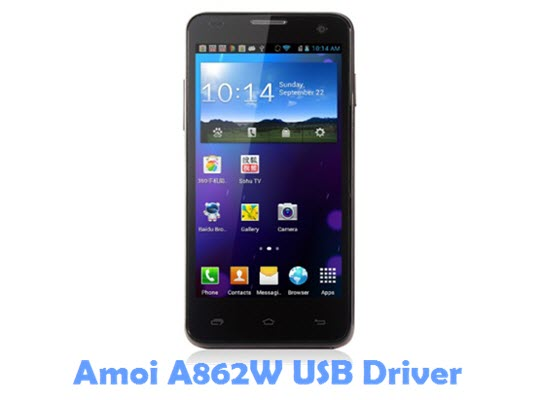 Download Amoi A862W USB Driver