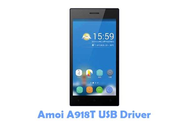 Download Amoi A918T USB Driver