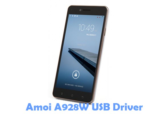 Download Amoi A928W USB Driver