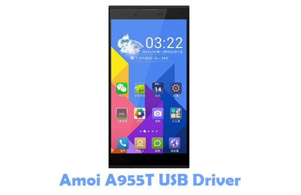 Download Amoi A955T USB Driver